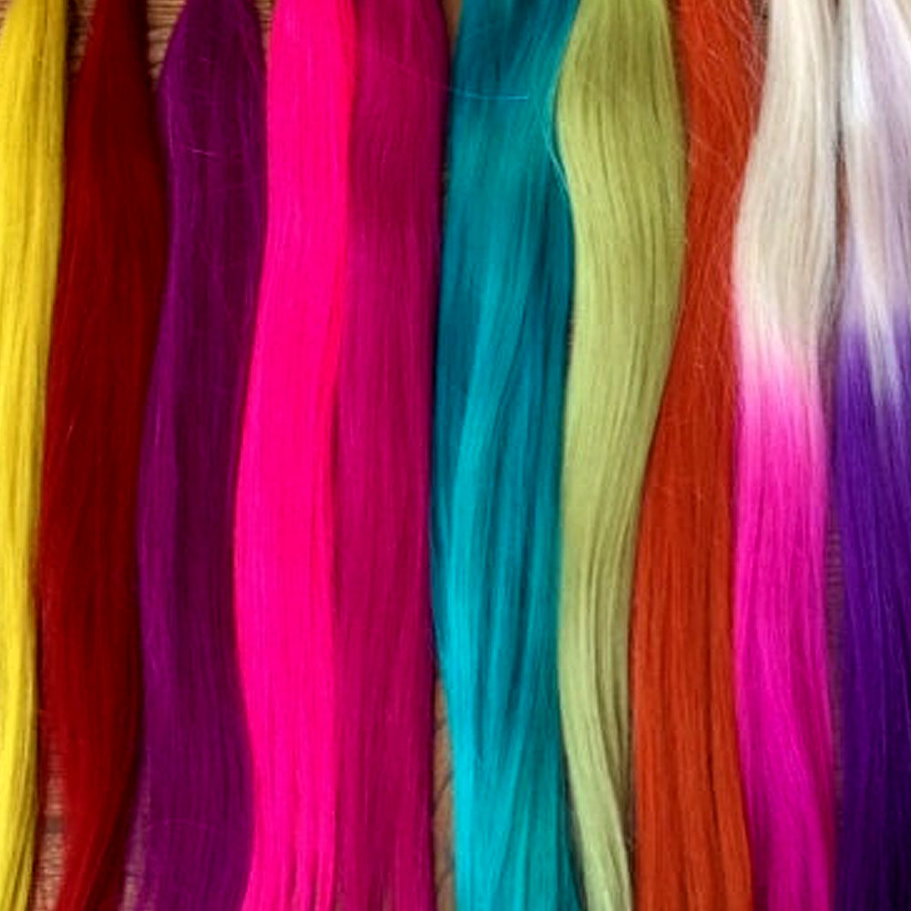 Weft Hair-Coloured and Blonde_image